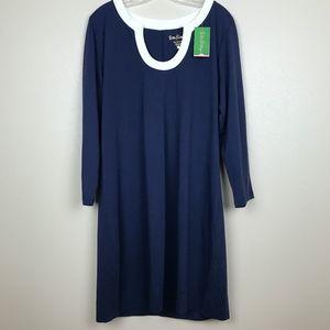 NWT Lilly Pulitzer Marlina Dress True Navy XL